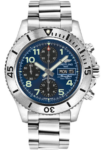"Image of ""Breitling Superocean A13341C3-C893Ss Chronograph Stainless Steel with"""