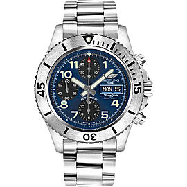 Breitling Superocean A13341C3-C893SS Chronograph Stainless Steel with Blue Dial 44mm Mens Watch