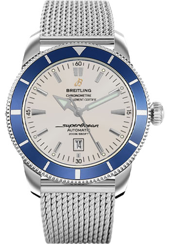 """Image of """"Breitling Superocean Heritage A1732024/g642 Stainless Steel 46mm Mens"""""""
