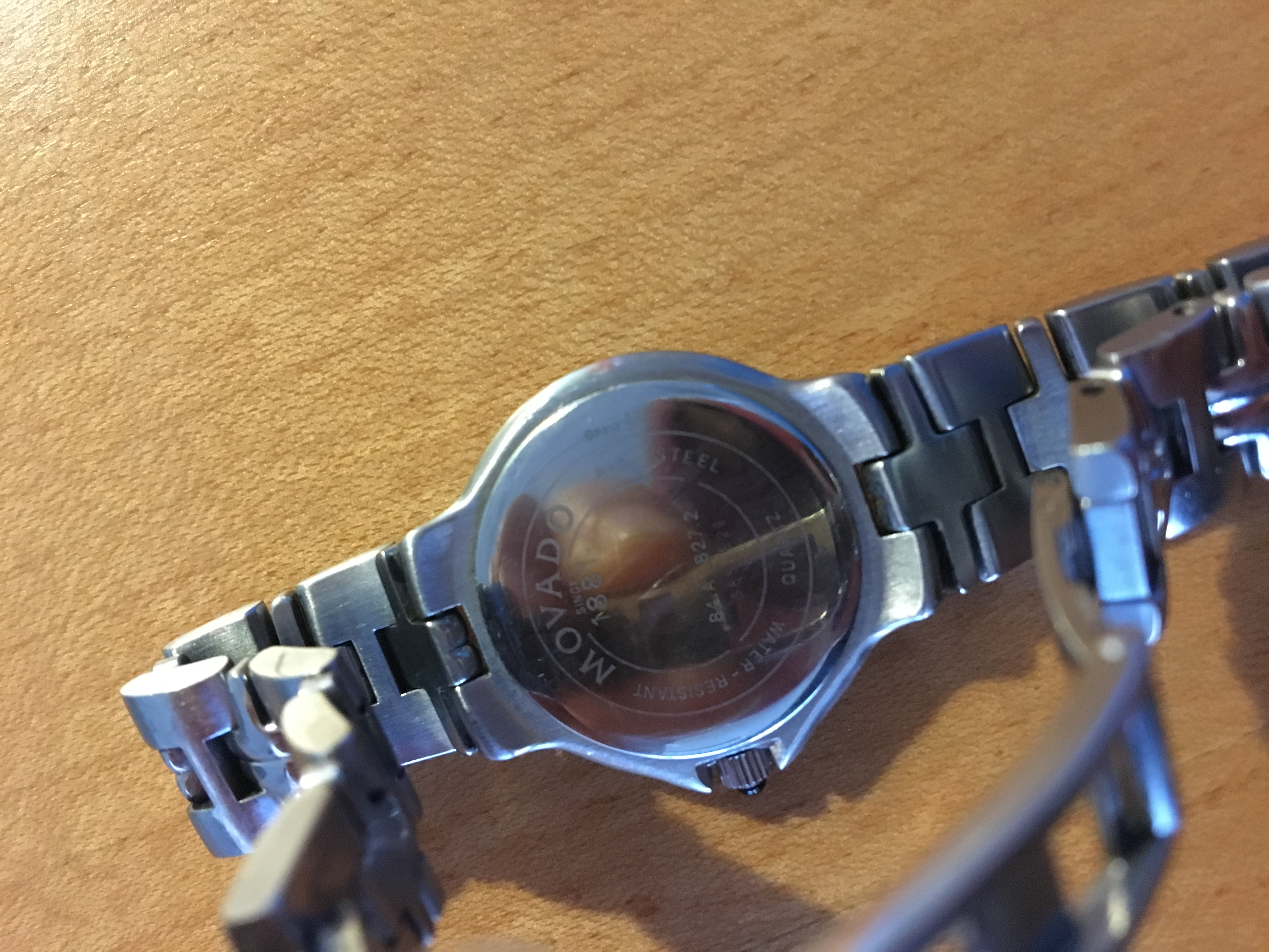 """Image of """"Movado 84.a1.827.2 Stainless Steel 23mm Watch"""""""