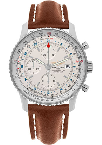 """Image of """"Breitling Navitimer World A2432212-G571Lbrlt Stainless Steel Automatic"""""""