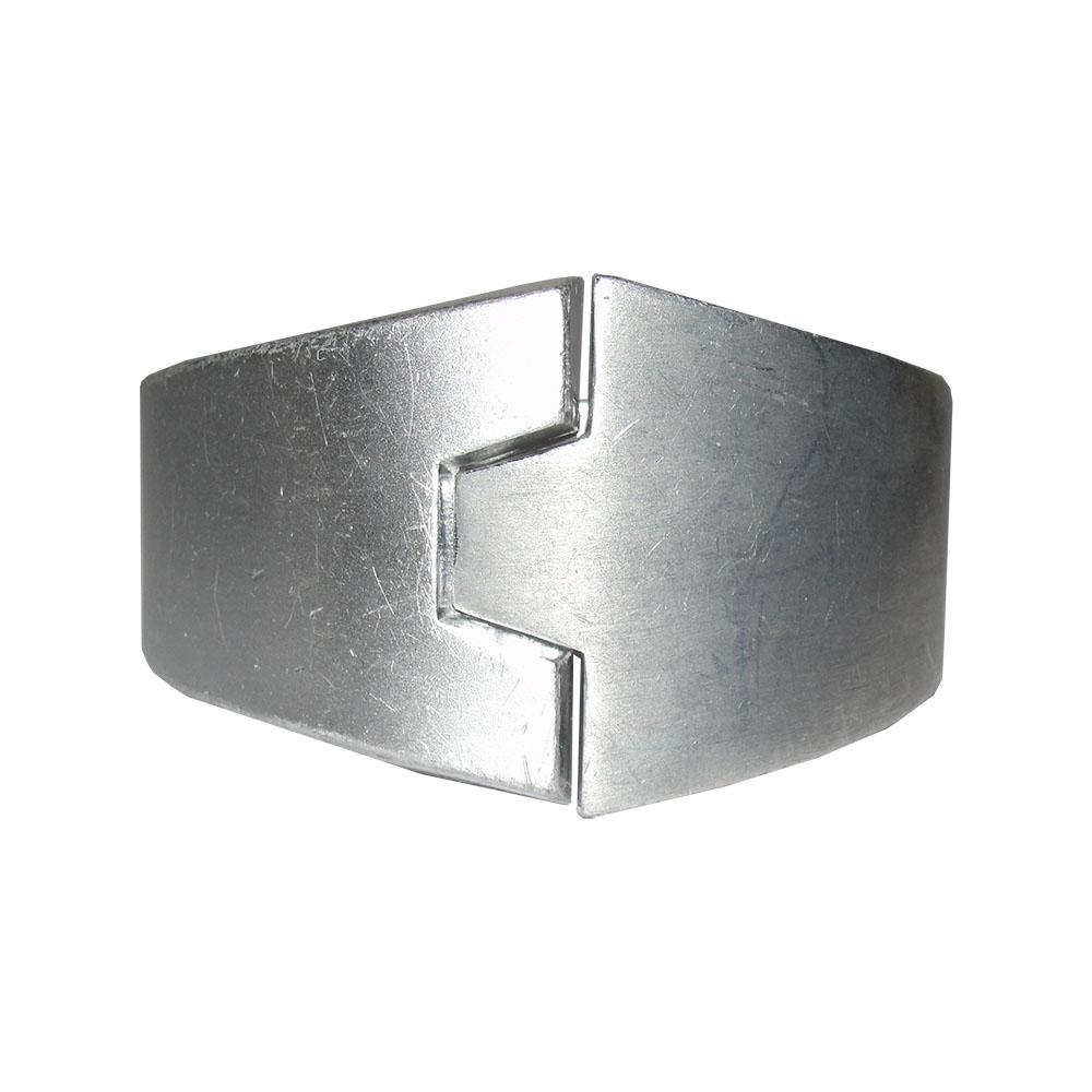 """Image of """"Lanvin Futuristic Aluminum Bracelet"""""""
