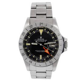 Rolex Explorer II Stainless Steel 40mm Mens Watch