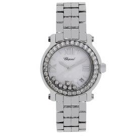 Chopard Happy Sport 8475 Stainless Steel Diamond Quartz 36mm Unisex Watch