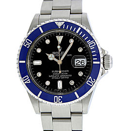 Rolex Submariner 16610 Stainless Steel with Diamond 40mm Mens Watch