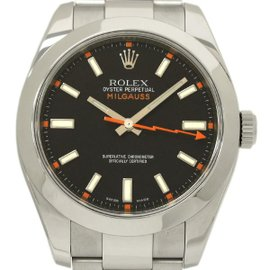 Rolex Oyster Milgauss 116400 Stainless Steel Automatic 40mm Men's Watch