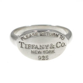 Tiffany & Co. 925 Sterling Silver Ring Size 5.75