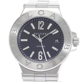 Bulgari Diagono DG40S Stainless Steel Automatic 40mm Mens Watch