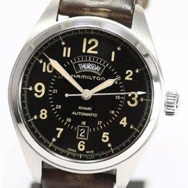 Hamilton Khaki Stainless Steel Automatic 42mm Mens Watch