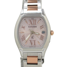 Citizen Stainless Steel & Gold Plated 25mm Watch
