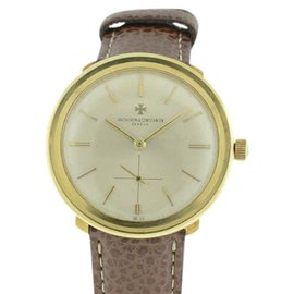 Vacheron Constantin Classique 18K Yellow Gold Manual 34mm Watch