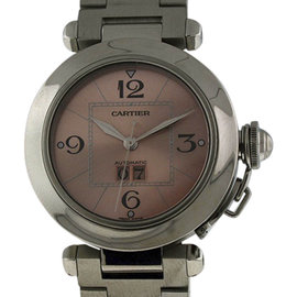 Cartier Pasha C Stainless Steel Automatic Big Date Automatic 35mm Unisex Watch