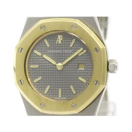 Audemars Piguet Royal Oak 18K Yellow Gold & Stainless Steel Quartz 30mm Womens Watch