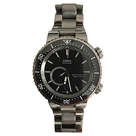 Oris Diver 64376387454MB Titanium and Stainless Steel 47mm Automatic Mens Watch