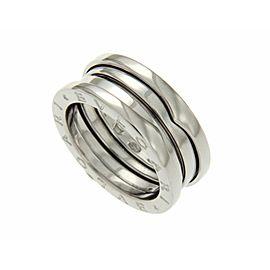 Bulgari B-Zero1 18K White Gold Ring Size 6.25