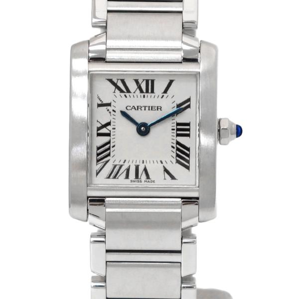 """Image of """"Cartier Tank Francaise W51008Q3 Stainless Steel Quartz 25mm Womens"""""""