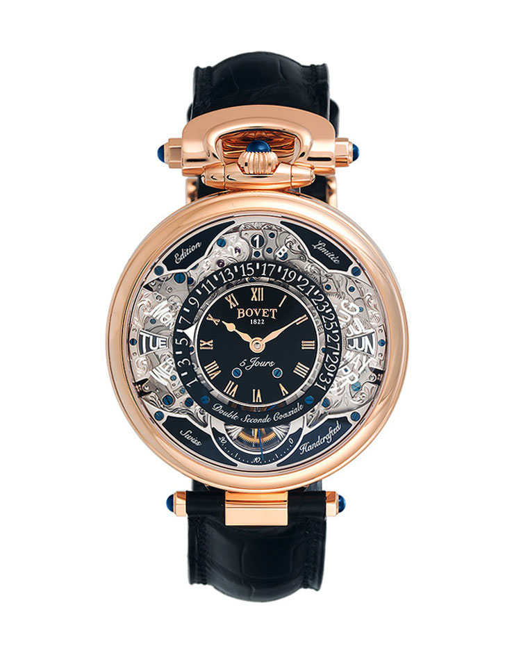 "Image of ""Bovet Complications Virtuoso VII Reversible Dial Watch"""