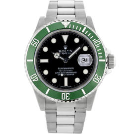 Rolex Submariner Stainless Steel & Black Dial 40mm Mens Watch