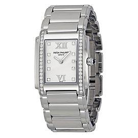 Patek Philippe Twenty-4 4910/1A-011 Stainless Steel & Diamond 25mm Watch