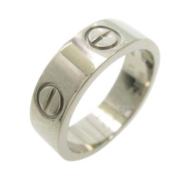 Cartier Love 18k White Gold Ring Size 4.75