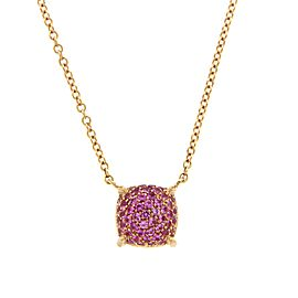 Tiffany & Co. Paloma Picasso 18K Rose Gold with Pink Diamonds Sugar Stacks Necklace