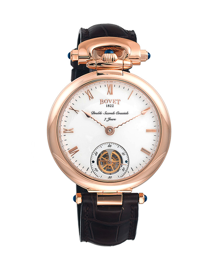 "Image of ""Bovet Fleurier Monsieur Bovet Reversible Dial Watch"""