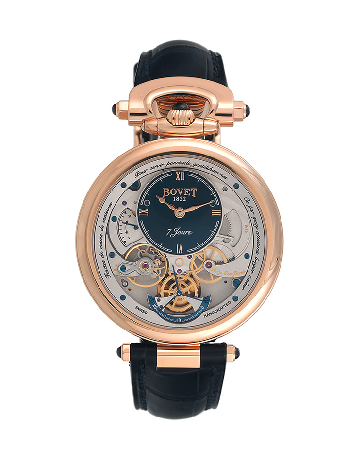 "Image of ""Bovet Fleurier Monsieur Reversible Dial Watch"""