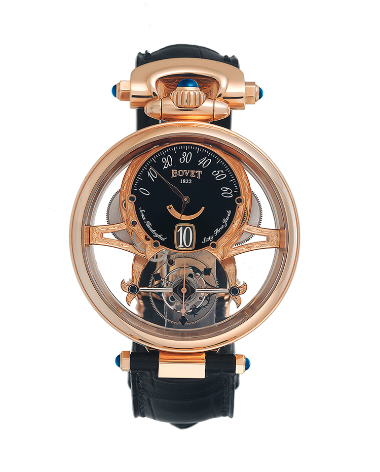 "Image of ""Bovet Grand Complications Virtuoso Reversible Dial Watch"""