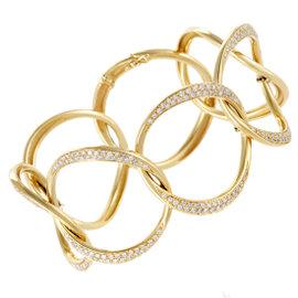 Antonini 18K Yellow Gold Diamond Pave Bracelet