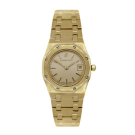 Audemars Piguet Royal Oak 1309 18K Yellow Gold 24.5mm Womens Watch