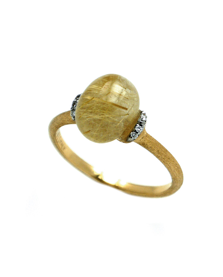 "Image of ""Dancing in the Rain Gold 18kt Ring"""