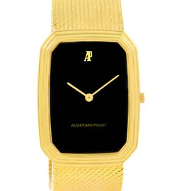 Audemars Piguet 4013 18K Yellow Gold Manual 27mm Mens Watch