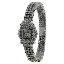 Audemars Piguet Classique 18K White Gold & Diamond 23mm Watch
