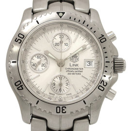 Tag Heuer Link Stainless Steel Automatic Mens 40mm Watch