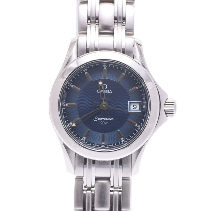 """Image of """"Omega Seamaster Stainless Steel Quartz 25mm Womens Watch"""""""