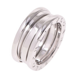 Bulgari B-Zero 1 18K White Gold Ring Size 4.25