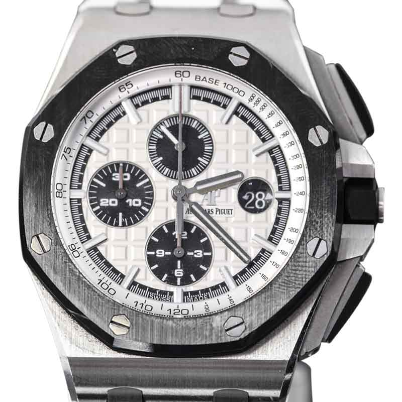 "Image of ""Audemars Piguet Royal Oak Offshore Stainless Steel & Rubber 44mm Watch"""