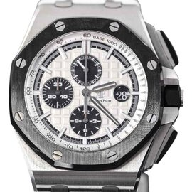 Audemars Piguet Royal Oak Offshore Stainless Steel & Rubber 44mm Watch