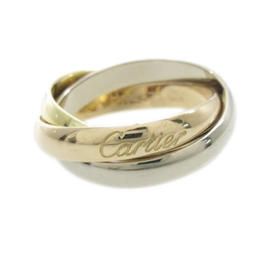 Cartier 18K Yellow, White and Rose Gold Trinity Classic Ring Size 6