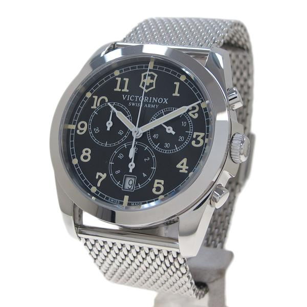 "Image of ""Victorinox Chronograph Stainless Steel Quartz 36 mm Men's Watch"""