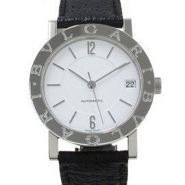 Bulgari Stainless Steel Automatic 33mm Unisex Watch