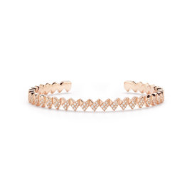 Multi Arrow Diamond Cuff