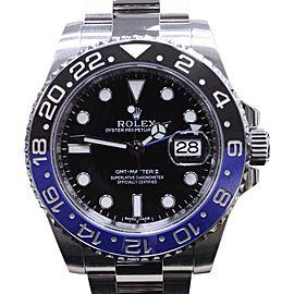 Rolex GMT Master II 116710 Batman Black & Blue Stainless Steel 40mm Mens Watch 2015