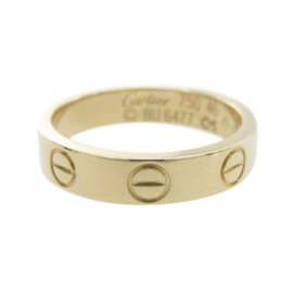 Cartier Mini Love 18k Rose Gold Ring Size 3.75