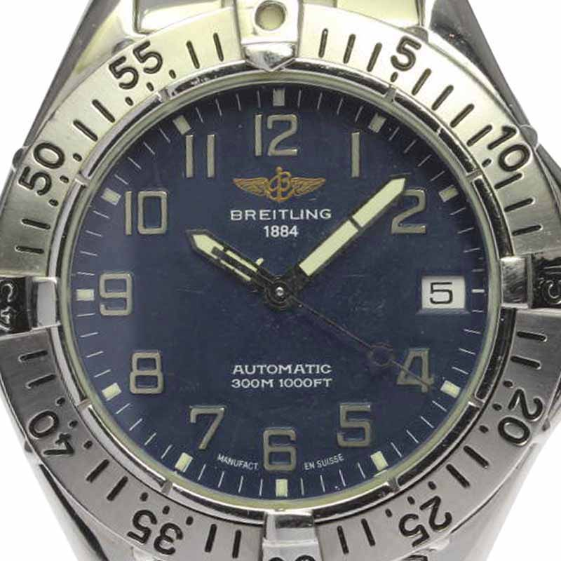 """Image of """"Breitling Colt A17035 Stainless Steel Automatic 37mm Mens Watch"""""""