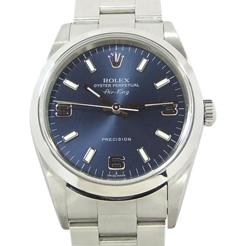 """Image of """"Rolex Air-King 14000M Stainless Steel 34mm Mens Watch"""""""