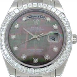 Rolex Diamond Masterpiece Platinum Mens Watch