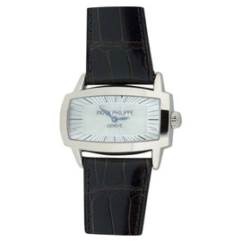Patek Philippe Gondolo Mother Of Pearl & 18K White Gold Womens Watch