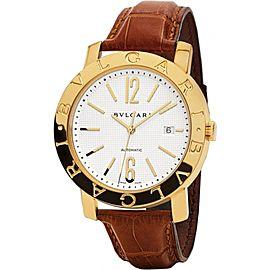 Bulgari BB42WGLDAUTO Stainless Steel 42mm Watch