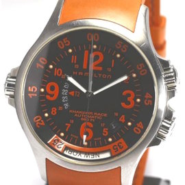 Hamilton Khaki Air Race GMT H776650 Stainless Steel Automatic 42mm Watch